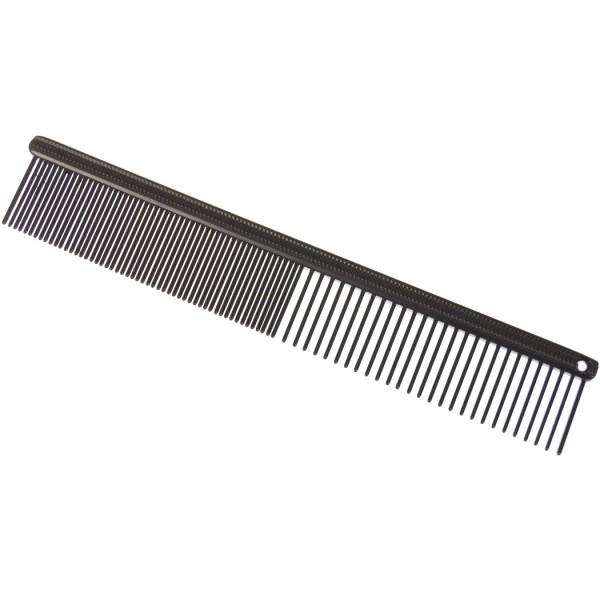 Madan Professional Antistatic Face Comb - schwarz beschichtet