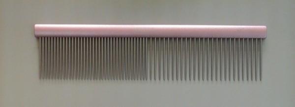 Madan Alumium Grooming Combs - ( (Longer Teeth) - Rose