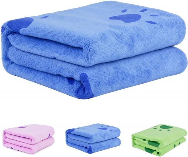 Hunde Bade - Handtuch