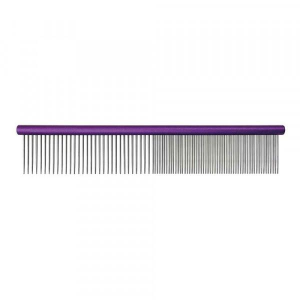 Groom Professional 25cm / gemischter Zahnabstand 50/50 lila