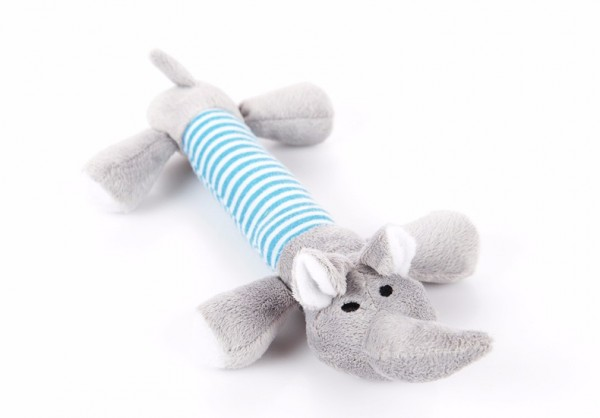 Hundespielzeug Plüsch mit Quitschi