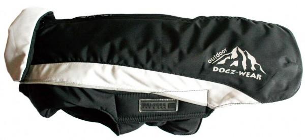Winterjacke für Hunde - Skijacke von Dogzwear - schwarz/grau