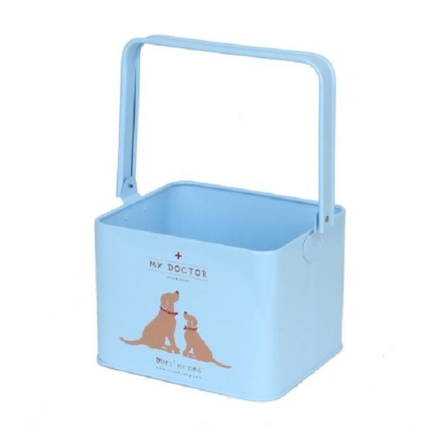 Aufbewahrungsbox - Oops My Dog My Doctor Blue