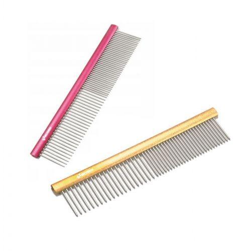 kleiner Metall Kamm - 15cm