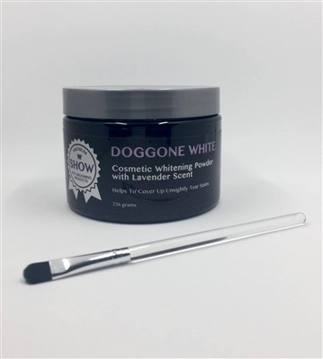 Doggone White Cosmetic Whitening Powder with Lavender Scent