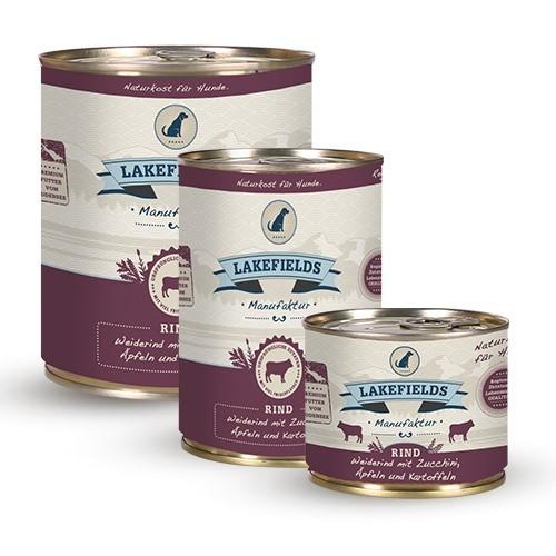 Lakefields® Komplettmenü Rind - getreidefrei