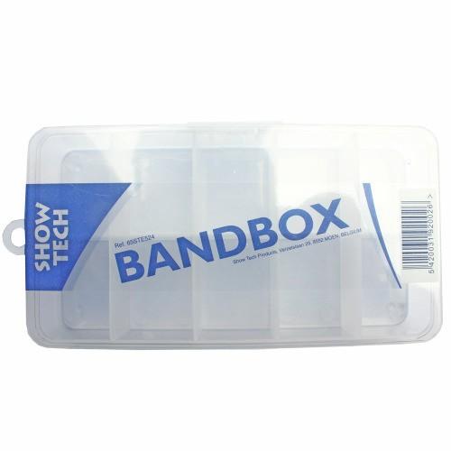 Show Tech Plastikbox zur Aufbewahrung von Gummibändern