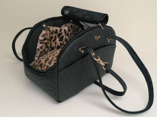 Eh Gia Traveller Bag Black + Leo - für alle Jahreszeiten