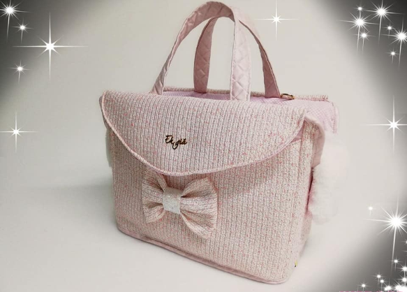 Eh Gia Channy Rose Hundetasche