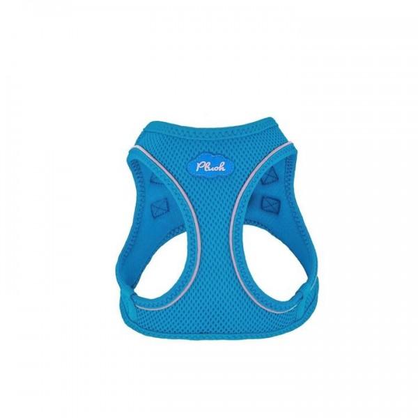Plush Step In Air Mesh Harness - Horizon Blue