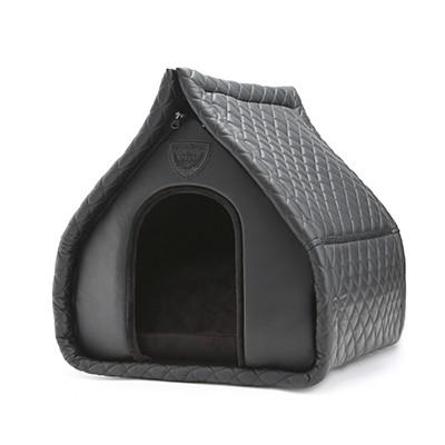 Puppy Angel Lovely Dog House Black