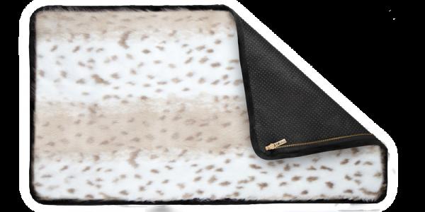 A MILLIONARS Decken Schnee Leopard Langhaar