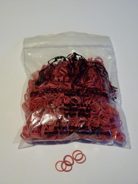 """Lainee Ltd. Zopfgummis / USA / medium - 5/16"""" - Sangria"""