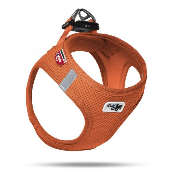 Curli Vest Geschirr Air-Mesh - Orange