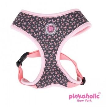 Pinkaholic Dogwood Harness - Blümchen Grau