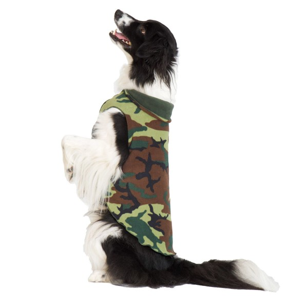 GoldPaw Stretch Duluth Double Fleece - Camoflage / Hunter
