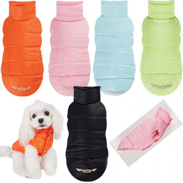 Puppy Angel Super Light Dog Padded Vest- Schwarz