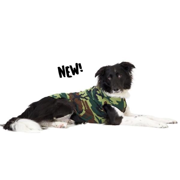 GoldPaw Stretch Fleece Pullover - Sonderfarbe - Camoflage