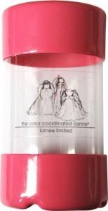 Lainee Ltd. Zopfgummi Container Pink