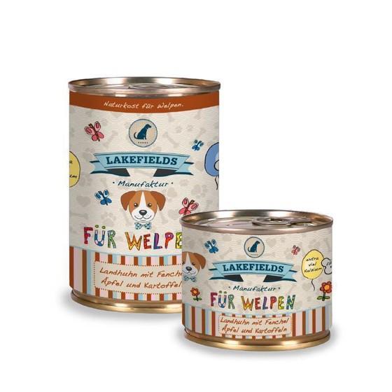 Lakefields® Welpenfutter Menü Huhn - getreidefrei