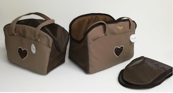 Eh Gia Sommer Life Bag - quare brown