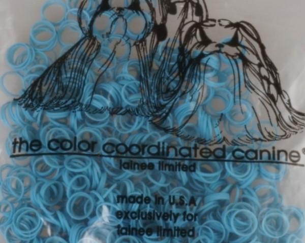 "Lainee Ltd. Zopfgummis / USA / medium - 5/16"" - Baby Blue"
