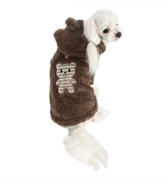 Puppy Angel BBOBBO(TM) Hoodie - Braun