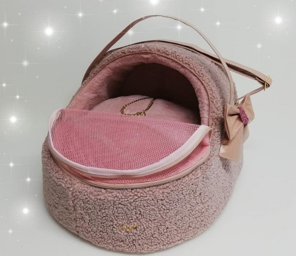 Eh Gia Fluffy Car Igloo - Rosa