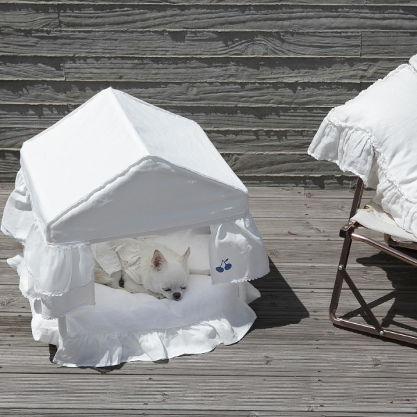 Peekaboo/white Cabana von Louisdog
