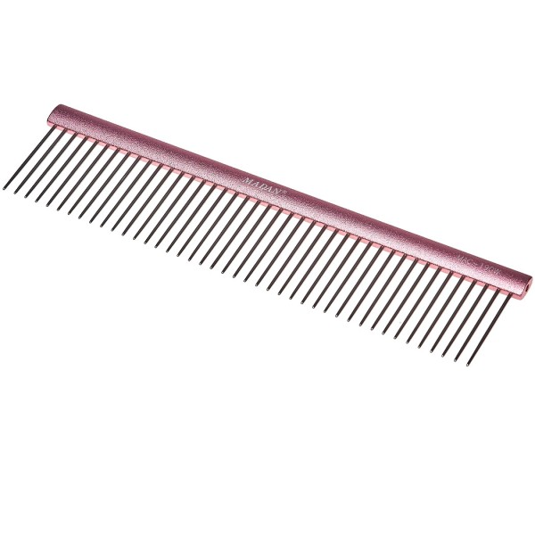 Madan Professional Light Comb 19cm - Abstand 3 mm / Stifte 3,5 cm - Rose