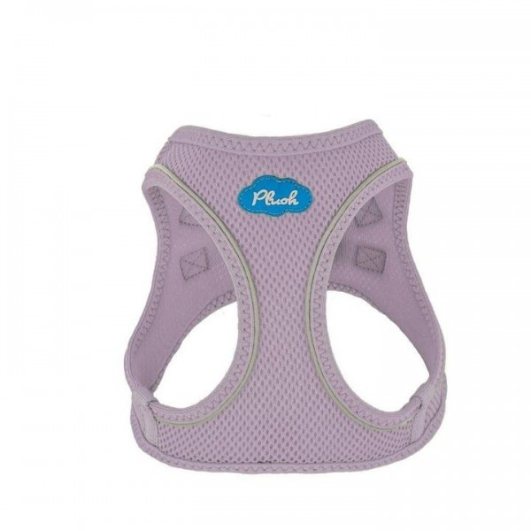 Plush Step In Air Mesh Harness - Lavender Frost