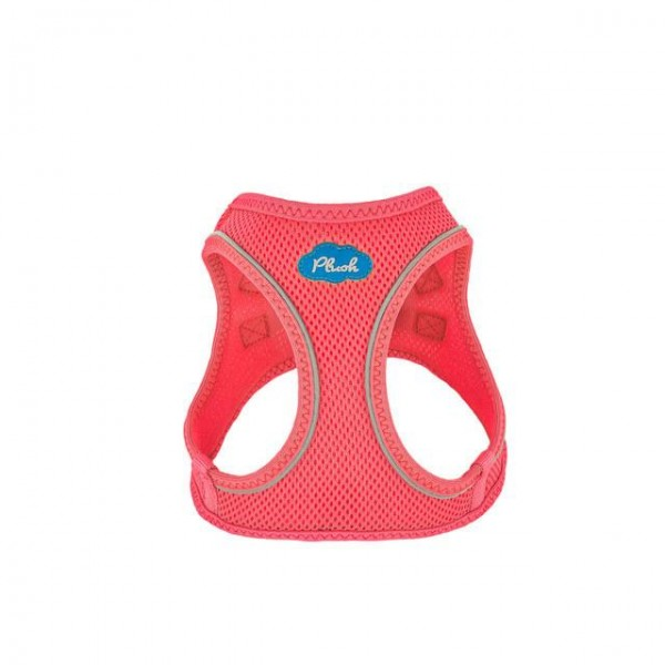 Plush Step In Air Mesh Harness - BubbleGum Pink