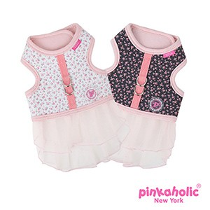 Pinkaholic Dogwood Flirt Harness - Flowers Design weiß