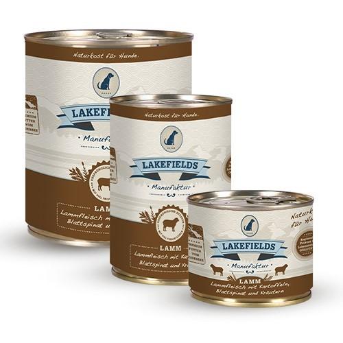 Lakefields® Komplettmenü Lamm - getreidefrei