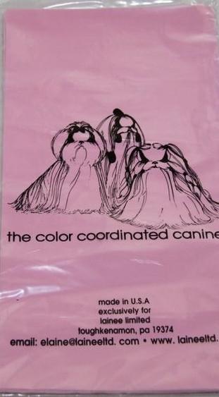 "Lainee Ltd. Wickelfolie / USA / Lang / Baby Pink / 6"" x 12"""