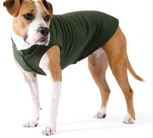 GoldPaw Stretch Fleece Pullover / Sonderfarben - Hunter Green