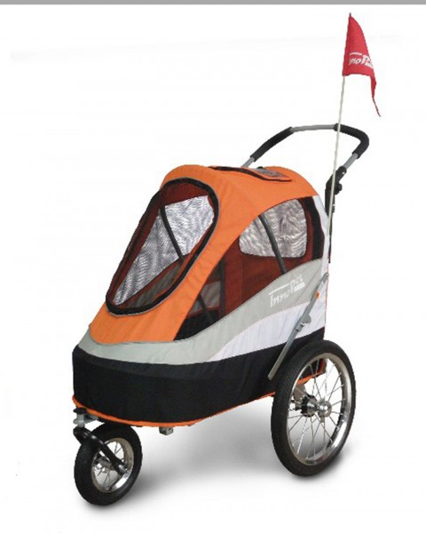 "InnoPet® Hundebuggy ""Sporty Trailer"" - orange"