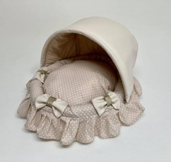 Eh Gia Cotton Cradle in Beige