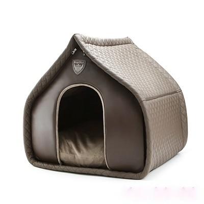 Puppy Angel Lovely Dog House in Braun