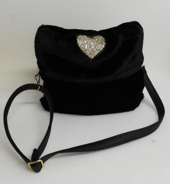 Eh Gia Hundetragetasche in schwarz
