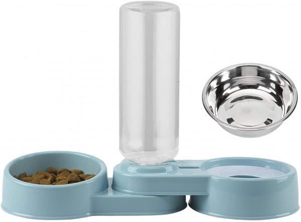 Automatischer Futter und Wasserspender für Hunde und Katzen