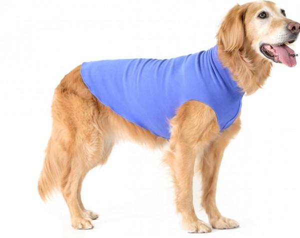 GoldPaw Stretch Fleece Pullover / Sonderfarben - CornFlower Blue