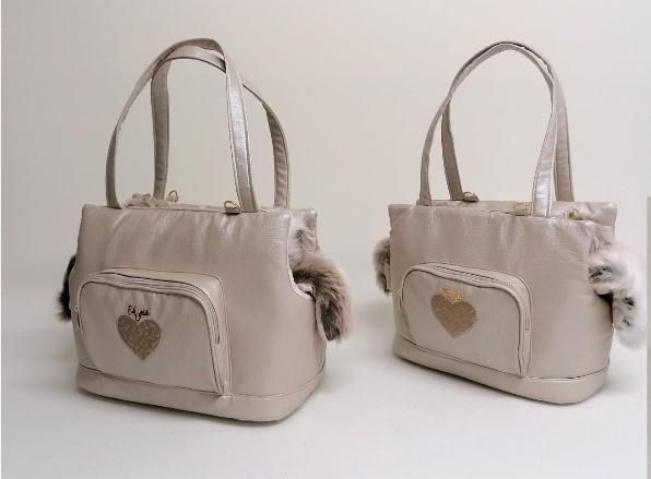 Eh Gia Heart Glamorous Bag - Creepy Beige +Tiger