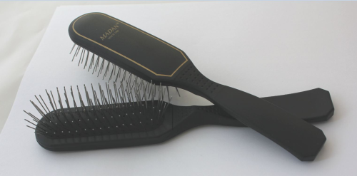Madan Pin Brush: Oblong - Black