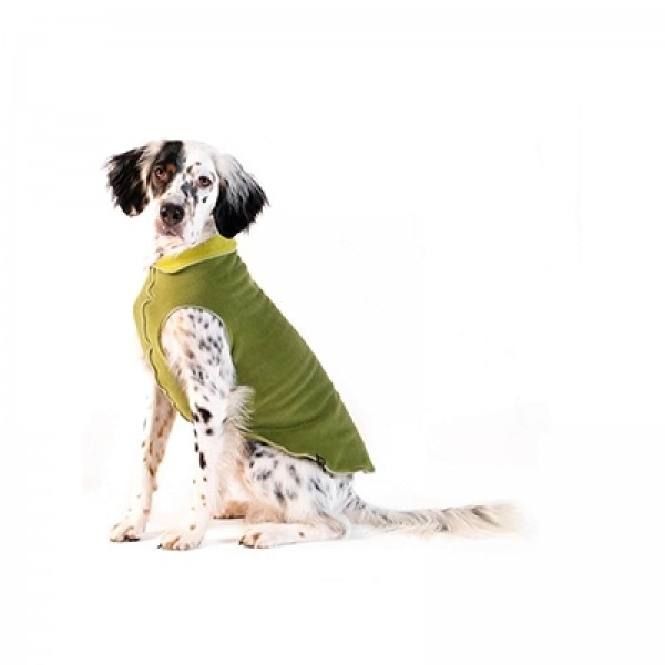 GoldPaw Stretch Duluth Double Fleece Pullover - Moos Avocado