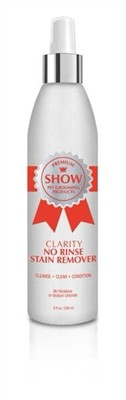 CLARITY No Rinse Stain Remover - A Multi-Purpose, Anti-Bacterial, Conditioning, 3-in-1 Spot Wash