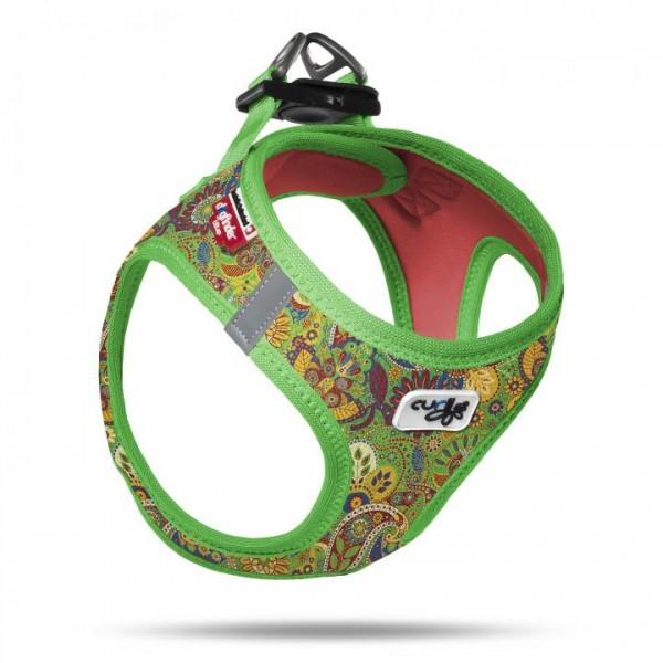 VEST GESCHIRR AIR-MESH - Green Floral