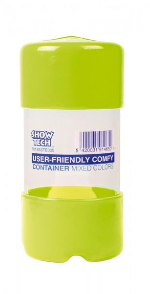 Zopfgummi Container Grün