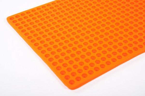 Silikon Backmatte für Hundekekse- Halbkugeln ca. 1 cm