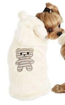 Puppy Angel BBOBBO(TM) Hoodie - Beige